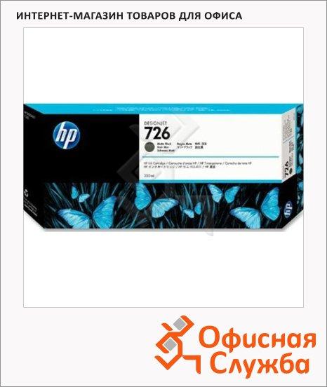 фото: Картридж струйный Hp 726 CH575A черный матовый
