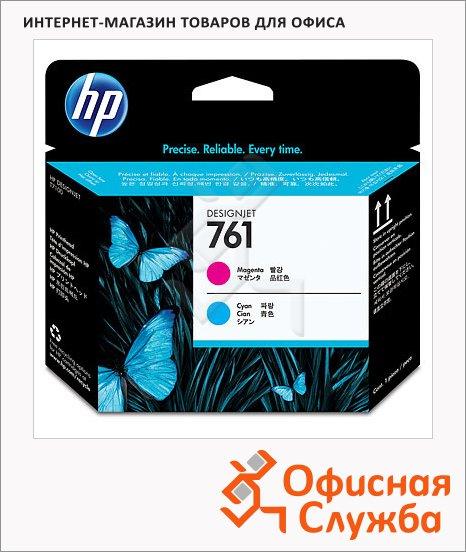 Печатающая головка Hp 761 CH646A, пурпурный/голубая