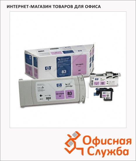 фото: Картридж струйный и печатающая головка Hp 83 C5005A светло-пурпурный