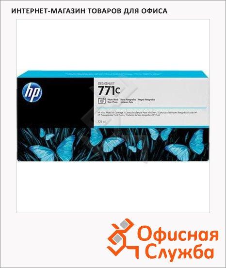Картридж струйный Hp 771 CR256A, 3шт/уп, черный