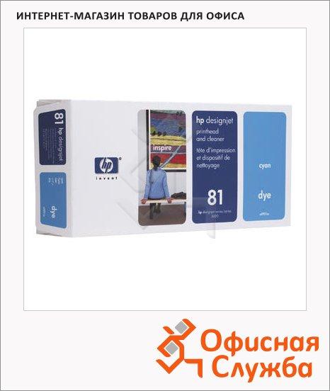 Печатающая головка Hp 83 C4961A, голубая