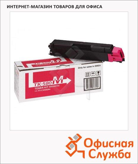 Тонер-картридж Kyocera Mita TK-580M, пурпурный