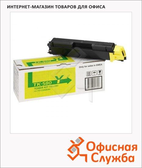 Тонер-картридж Kyocera Mita TK-580Y, желтый