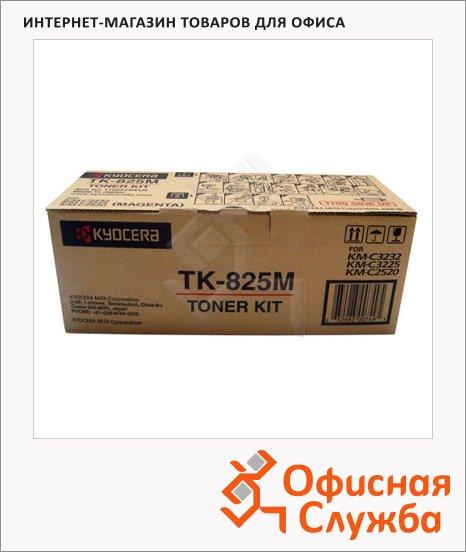 фото: Тонер-картридж Kyocera Mita TK-825M пурпурный