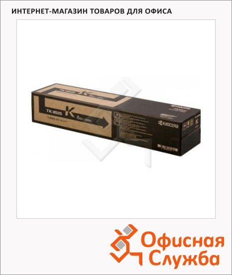 фото: Тонер-картридж Kyocera Mita TK-8505K черный
