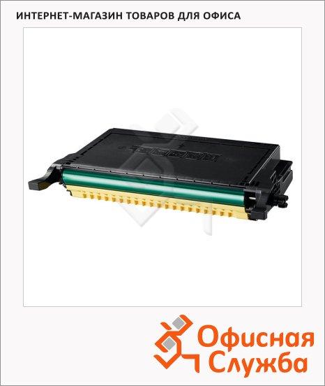 фото: Тонер-картридж Samsung CLP-C660B желтый