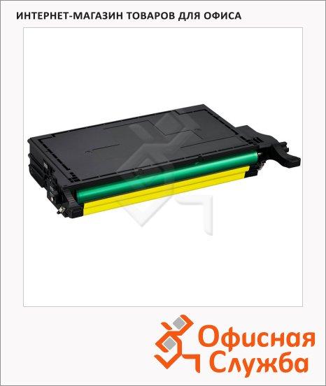 Тонер-картридж Samsung CLT-Y508L, желтый