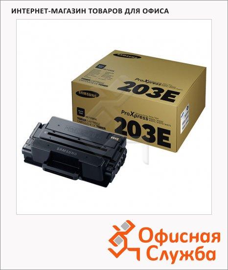 Тонер-картридж Samsung MLT-D203E, черный