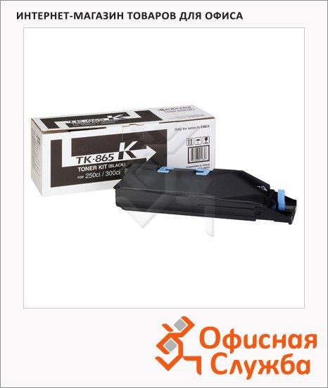 Тонер-картридж Kyocera Mita TK-865K, черный