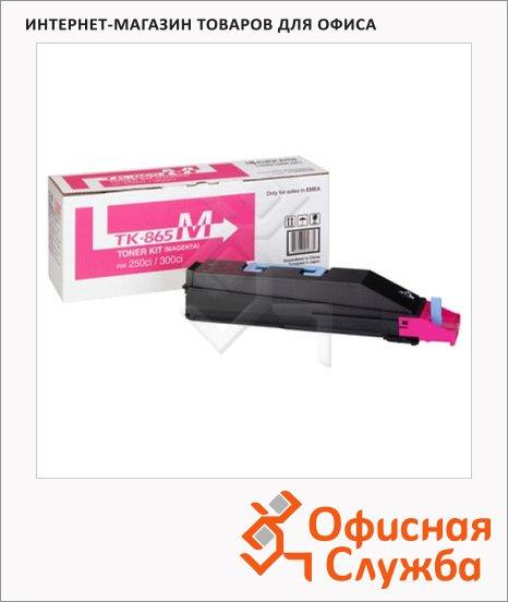 Тонер-картридж Kyocera Mita TK-865M, пурпурный