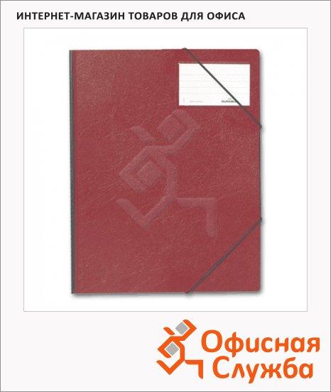 фото: Пластиковая папка на резинке Durable красная A4, до 150 листов, 2320-03