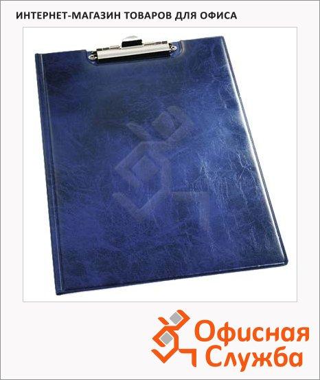 фото: Клипборд с крышкой Durable синий А4, 2355-06