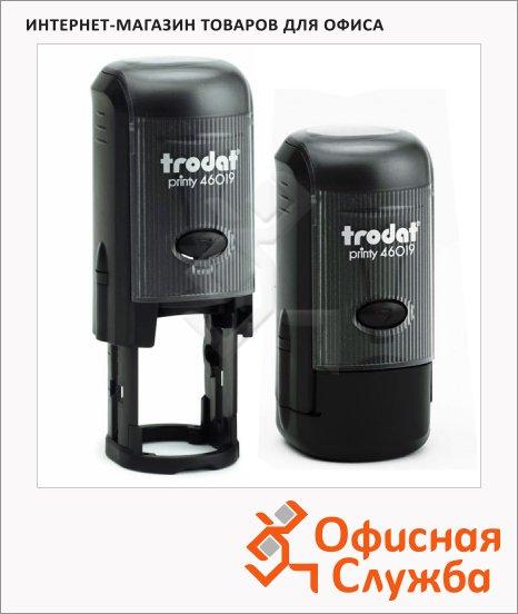 фото: Оснастка для круглой печати Trodat Printy d=19мм 46019, черная