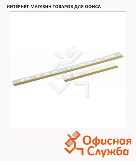 Механизм для скоросшивателя самоклеящийся Durable Filefix 145х25 см, 25 шт/уп, 8062-19
