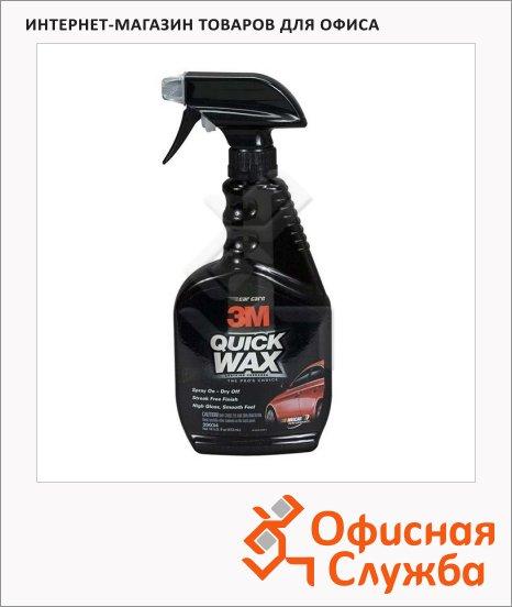Воск для автомобиля 3m Quick Wax 473мл, 39034