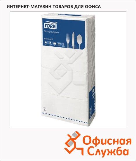 Салфетки Tork Advanced белые, 40х40см, 2 слоя, 250шт, 15132