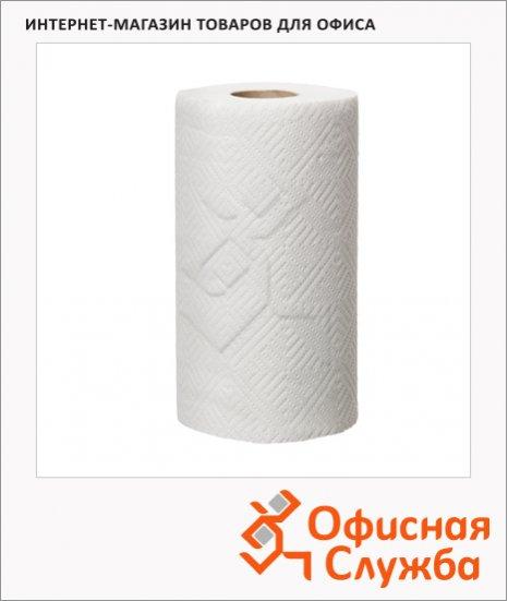Бумажные полотенца Tork Advanced для кухни, 473498, в рулоне, 20,4м, 2 слоя, белые, 4 рулона