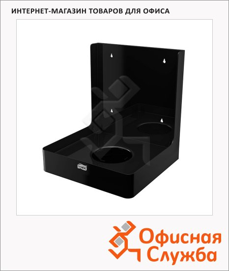 Диспенсер для протирочных материалов в коробке Tork Performance W3, 207210, с отборочным устройством, черный