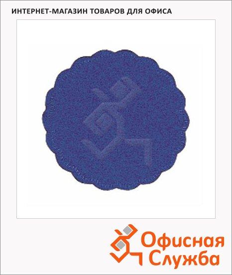 фото: Подкладка под чашку Tork Advanced темно-синяя d=9см, 8 слоев, 250шт, 474468