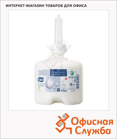 фото: Жидкое мыло в картридже Tork Premium S2 420202, для рук, 475мл