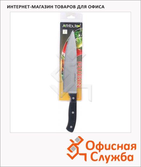 Нож кухонный Attribute Rubin 21см, для мяса