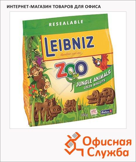 фото: Печенье Leibniz детское zoo джунгли 100г