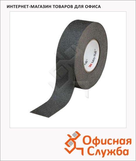 Лента противоскользящая 3m Safety Walk General Purpose черная, средней зернистости, 25мм х18.3м