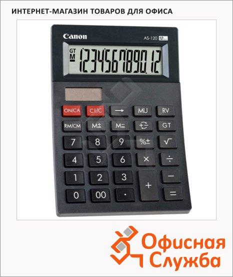 фото: Калькулятор настольный AS 120R HB черный 12 разрядов