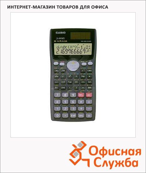 Калькулятор инженерный Casio FX100MS Plus черный, 10+2 разрядов