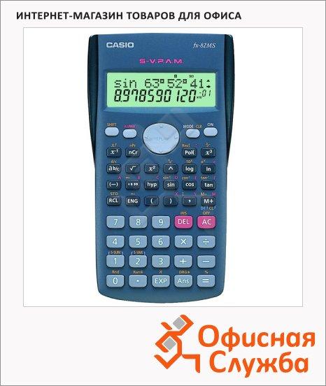 Калькулятор инженерный Casio FX82MS синий, 10+2 разрядов