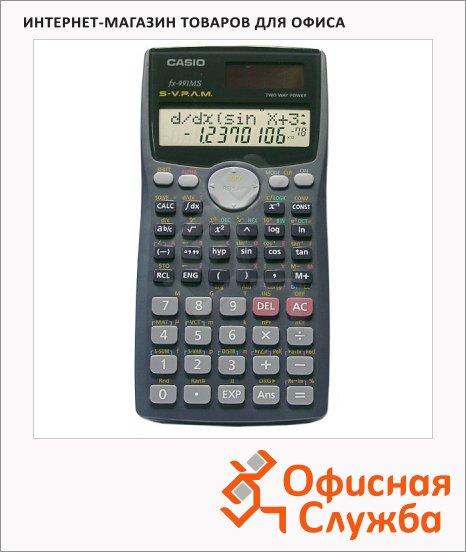 Калькулятор инженерный Casio FX991MS черный, 10 разрядов