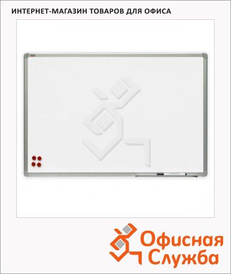 Доска магнитная маркерная 2x3 TSA 1224P4 240х120см, белая, керамическая, алюминиевая рама