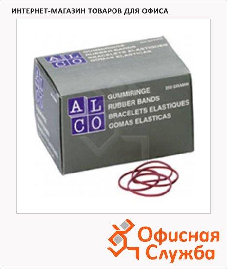 Резинки для денег Alco 130х4мм, 500г, красные, 756/811519
