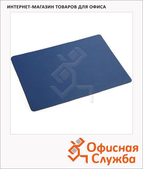 Коврик настольный для письма Durable 30x42см, детский, синий, 7011-07