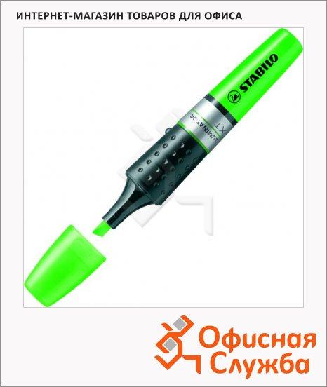 Текстовыделитель Stabilo Luminator зеленый, 2-5мм, скошенный наконечник
