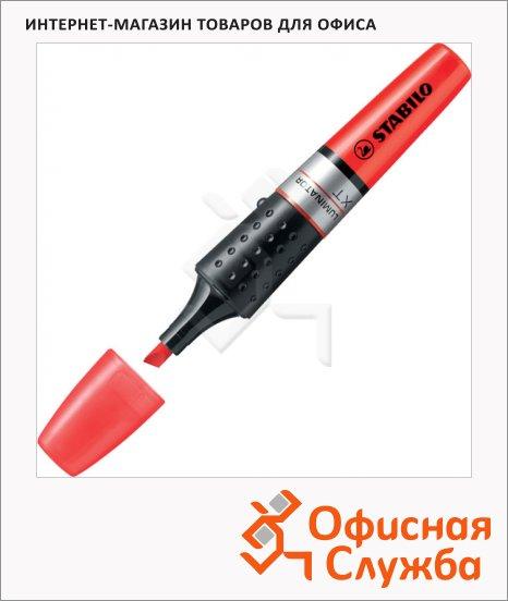 Текстовыделитель Stabilo Luminator красный, 2-5мм, скошенный наконечник