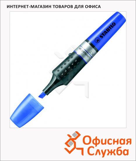 Текстовыделитель Stabilo Luminator синий, 2-5мм, скошенный наконечник