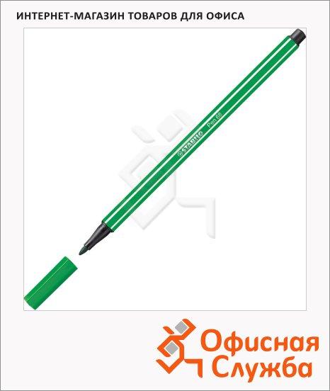 Фломастеры профессиональные Stabilo Pen 68 зеленый, 1мм