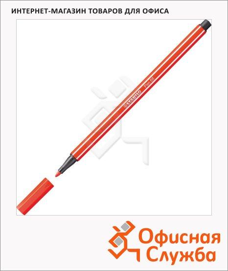 фото: Фломастеры профессиональные Stabilo Pen 68 красный 1мм