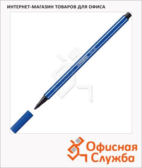 Фломастеры профессиональные Stabilo Pen 68 синий, 1мм