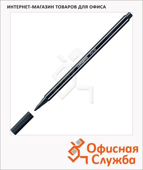 фото: Фломастеры профессиональные Stabilo Pen 68 черный 1мм