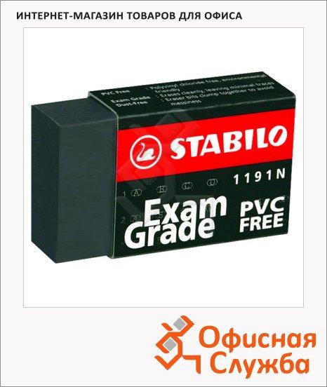 Ластик Stabilo 1191N черный