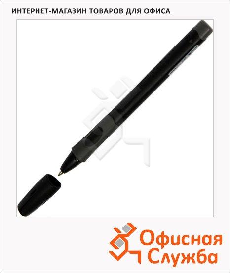 фото: Ручка шариковая Stabilo LeftRight 6328 синяя 0.4мм, черный корпус