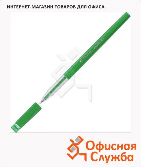 Ручка шариковая Stabilo Excel 828F/46 зеленая, 0.3мм, зеленый корпус