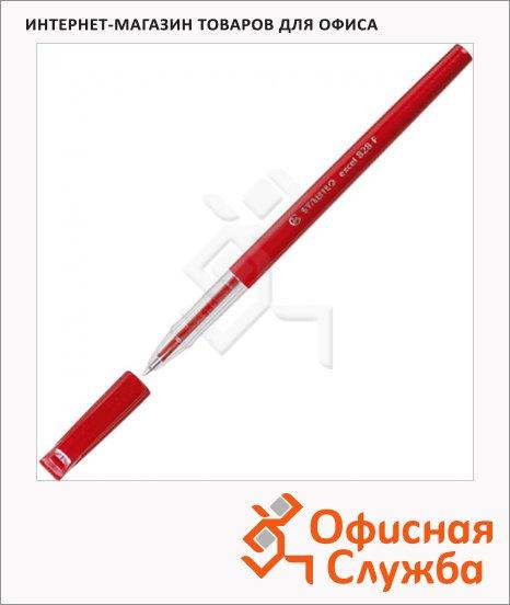 фото: Ручка шариковая Stabilo Excel 828F красная 0.3мм, красный корпус