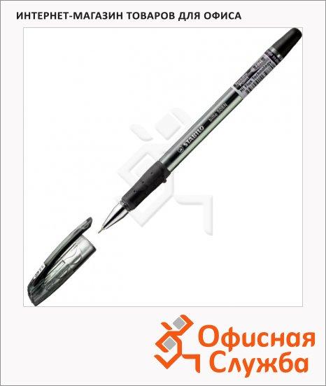 Ручка шариковая Stabilo Bille 508NF/46 черная, 0.38мм