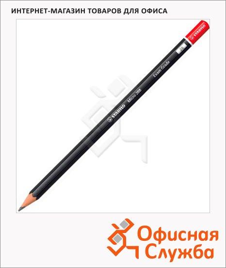 Карандаш чернографитный Stabilo Exam Grade micro 288 2B