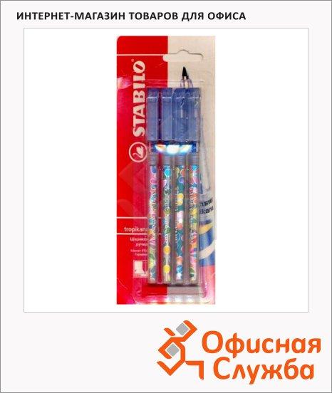Набор ручек шариковых Stabilo Tropikana 838/4 0.38мм, 4шт