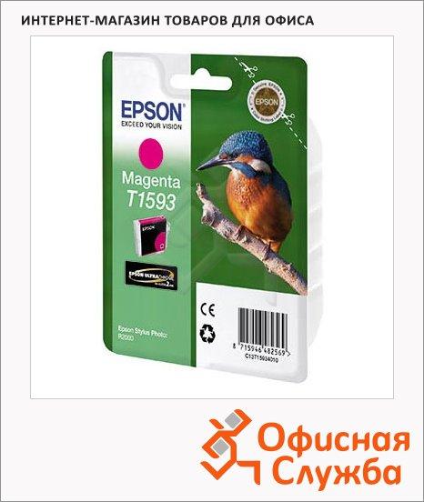 Картридж струйный Epson C13 T159340, пурпурный
