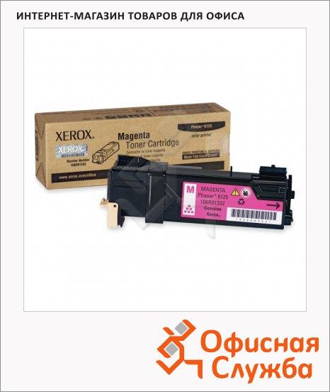 фото: Тонер-картридж Xerox 006R01463 пурпурный